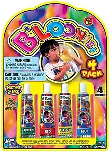 aquí tiene la última B'Loonies, 1 Piece Piece Piece which included 4 Straws and 4 Colors, 2011 Ja-Ru, Inc.  marcas de moda