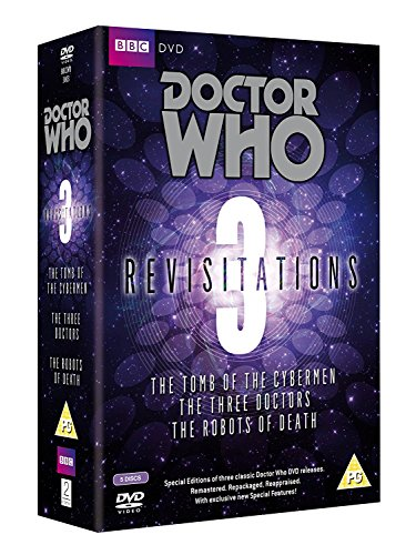 Doctor Who - Revisitations Box Set Volume 3: The Tomb of the Cybermen / Robots of Death [Reino Unido] [DVD]