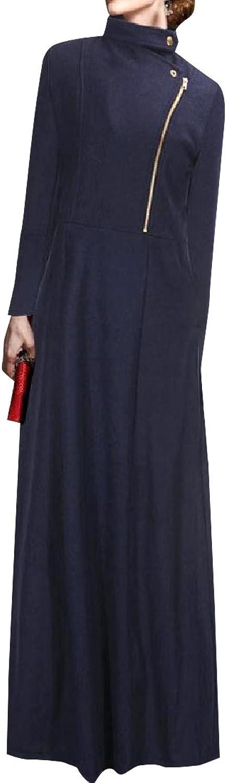CoolredWomen Cashmere Laydown Collar Long Sleeve Parka Jackets