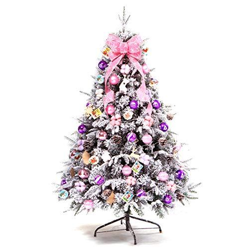 Árbol De Navidad Artificial Decoraciones Decorativas Luces De PVC Soporte De Venta Adornos Con Decoración Linterna Árbol Superior,180CM
