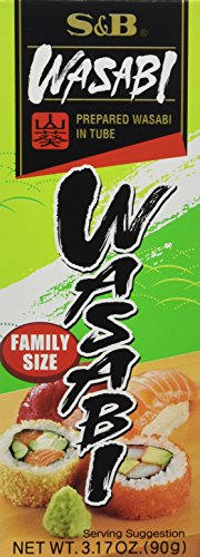 S & B Wasabi Paste 90g (Pack of 3)