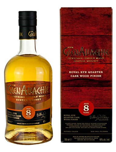 Glenallachie - Koval Rye Quarter Cask Wood Finish - 8 year old Whisky