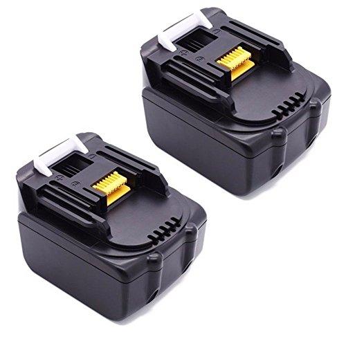 PowerWings 2X Packs 14,4 V 3, 0Ah batteria per Makita BL1430 bl1415 194066-1 194065-3 Lithium-Ion(LG cella)