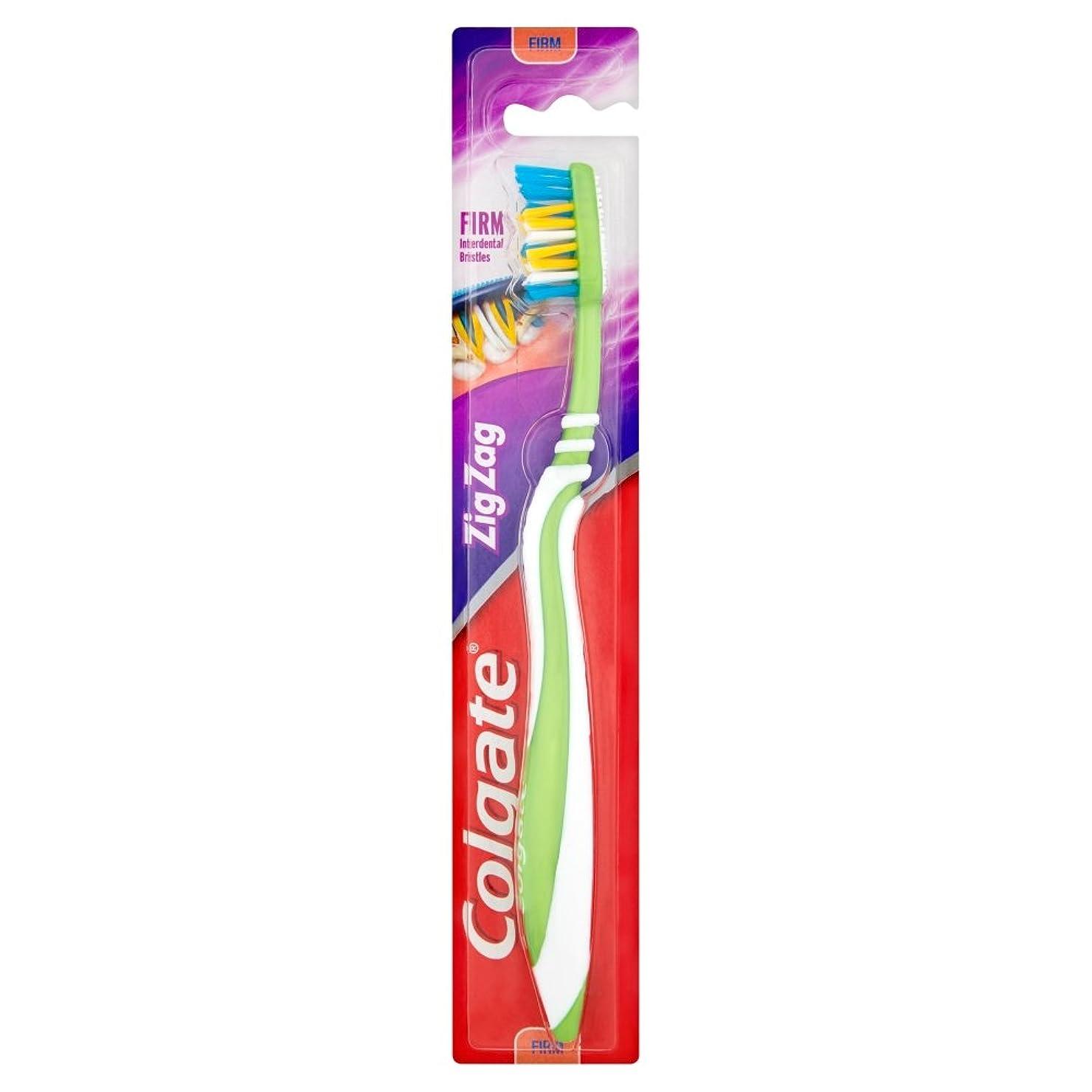 書誌征服者傷つける[Colgate ] コルゲートジグザグしっかり歯ブラシ - Colgate Zig Zag Firm Toothbrush [並行輸入品]