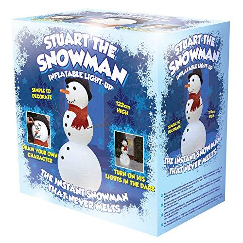 Oliphant Stuart Bonhomme de neige gonflable