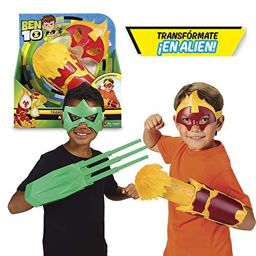 BEN 10 – Roleplay con maschera e lancia misil (Giochi Preziosi BEN06000), colore/modello assortito