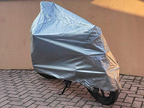 CARALL Cubierta Universal Antidesgarro Impermeable para Motocicletas Scooter (Pequeño Mediano)