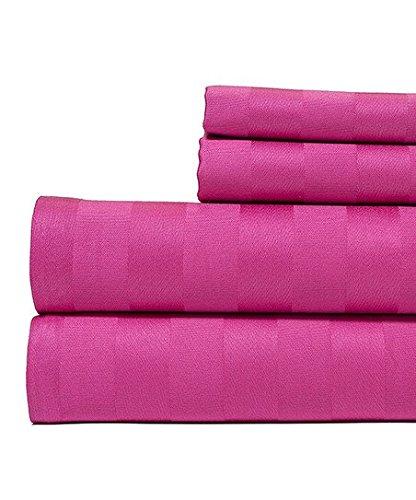 LaxLinens Juego de cama individual (algodón egipcio de 500hilos + 21pulgadas) extra...