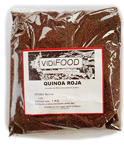 Quinoa Roja - 1kg - Fuente Rica de...