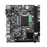 Wendry Placa Base, Memoria DDR3 y Placa Base de Gráficos Nuclear HDMI HD, Placa Base de Interfaz de Alta Velocidad USB3.0, Placa Base LGA 1155 USB3.0 SATA para Intel B75