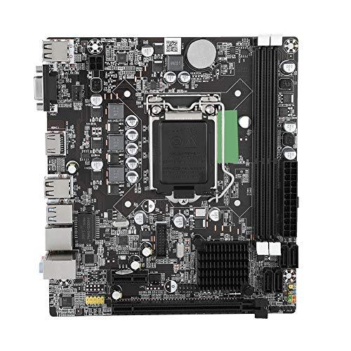LGA 1155マザーボード Intel B75用 デスクトップコンピューターメインボード USB 3.0 SATA DDR3メモリ マンボード 統合サウンドカード/ネットワークカード PC用マザーボード