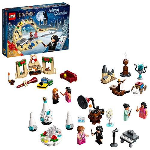 LEGO 75981 Harry Potter Calendario de Adviento Navidad 2020, Miniset de Contrucción del Baile de Navidad de Hogwarts