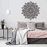 Impresionante diseño de pared de mandala estilo decoración de pared estilo de etiqueta de mandala grande