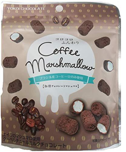 横井チョコレート 珈琲チョコレートマシュマロ 30g ×10袋