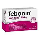 TEBONIN konzent 240 mg Filmtabletten 120 St Filmtabletten