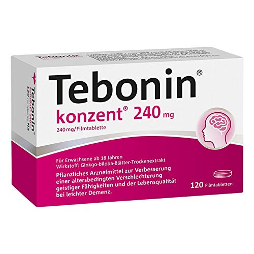 TEBONIN konzent 240 mg Filmtabletten 120 St