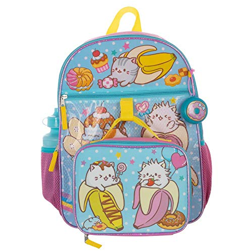 Bananya Backpack 5-Piece School Supplies Set