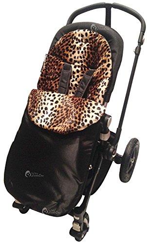Imprimé animal rembourré Chancelière/Cosy orteils Cosy orteils Compatible avec Babystyle Oyster Max TS2 Leopard