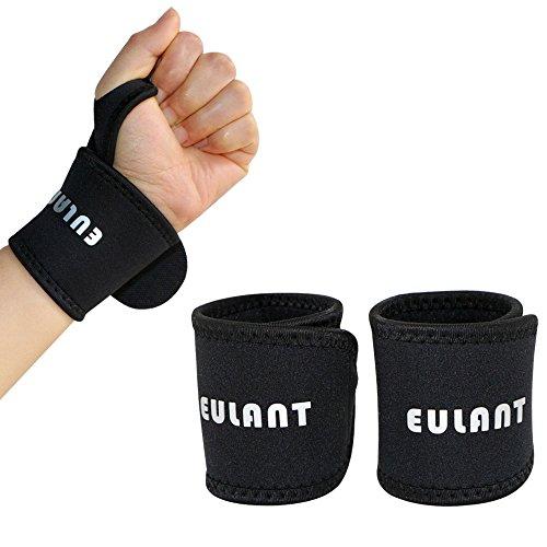 Soporte Muñequeras EULANT 2PCS Wrist Brace Support