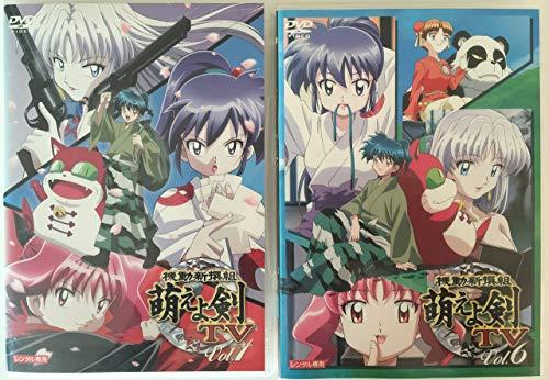 機動新撰組 萌えよ剣 (TV) 全6巻セット [レンタル落ち] [DVD]の拡大画像