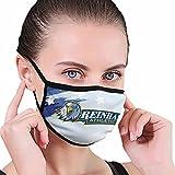 Reinhardt A University Logo Black Edge Dust Mask (Unisex), Reusable, Outdoor Activity Mask.