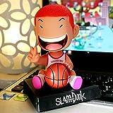 newolfend Anime Slam Dunk Bobble Head Hanamichi Sakuragi Y Rukawa Kaede PVC Action Figure Collectibl...