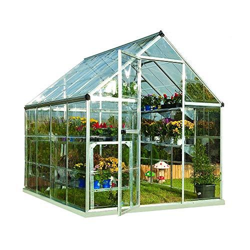 Palram Harmony Greenhouse (6x8, Silver)