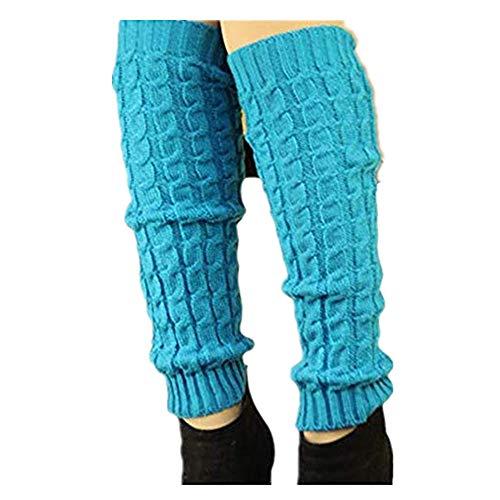 Frauen Mädchen Aushöhlen Bein Stulpen Damen Stiefel Manschetten Wärmer Stricken Bein Strümpfe Legwarmers Grobstrickstulpen tolles Geschenk URIBAKY