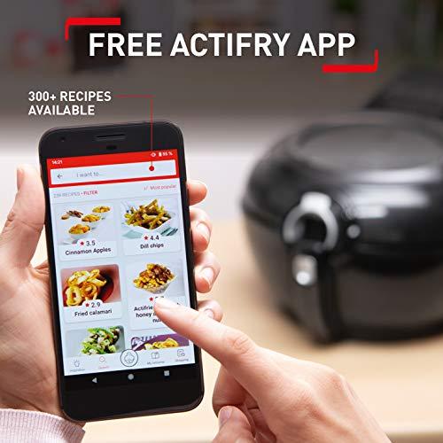 Tefal ActiFry Genius XL AH960040 Health Air Fryer, White, 1.7kg, 8 portions