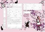 【令和対応】役所提出できるオリジナル婚姻届け 不思議の国のアリス