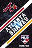 Atlanta Braves Sport Notebook & Journal With Logo Team Atlanta Braves NFL , NHL , MLB , NCAA #A3