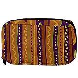 Bolsas de cosméticos geométricas tribu práctica bolsa de viaje Oragniser bolsa de maquillaje para mujeres y niñas