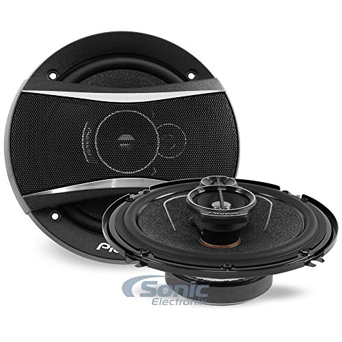 Review Pioneer TS-A1676R A Series 6.5 inch 320 Watts Max 3-Way Car Speakers Pair with Multilayer Mic...