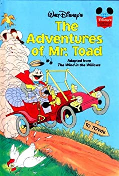 The Adventures of Mr. Toad - Book  of the Disney's Wonderful World of Reading