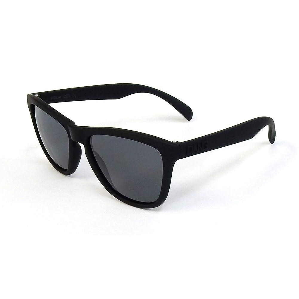 結晶梨補体DANG SHADES (ダンシェイディーズ) ORIGINAL RAISED オリジナル レイズド Black Soft X Black Polarized (偏光レンズ) vidg00049-2 スポーツサングラス