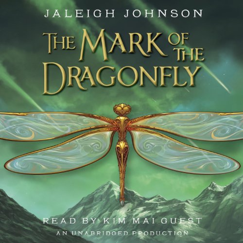 The Mark of the Dragonfly audiobook cover art