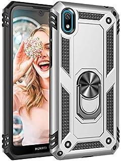 جراب XINKO لهاتف Huawei Y5 2019، PC TPU 2 في 1 Ultra Slim Cover Ring bracket [Slim Fit] [مضاد للخدش] [امتصاص الصدمات] [متي...