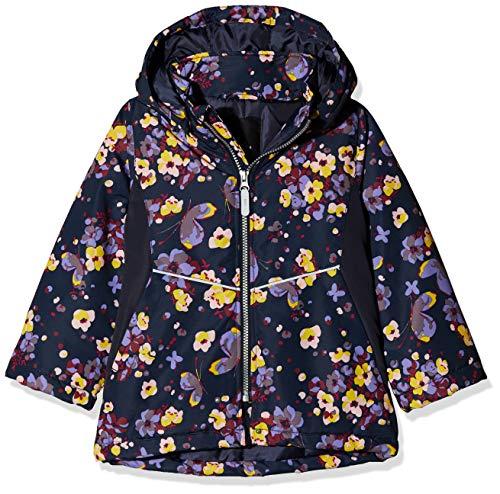 NAME IT Mädchen NMFMAXI Jacket Butterfly Jacke, Mehrfarbig (Dark Sapphire Dark Sapphire), (Herstellergröße: 104)