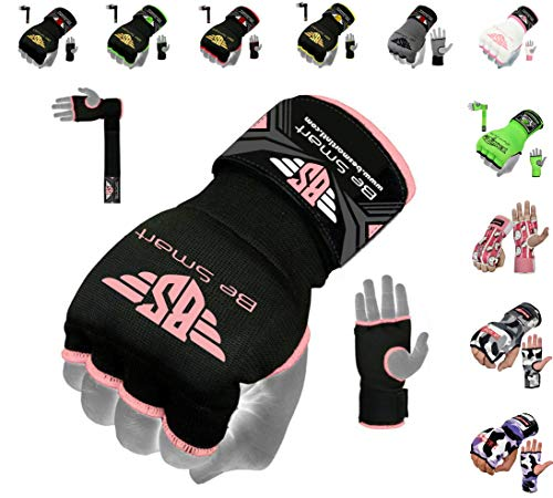 Gel Inner Hand Wraps Boxing Gloves Bandages Muay Thai, MMA, UFC, Kick Boxing Protective Gear Pair