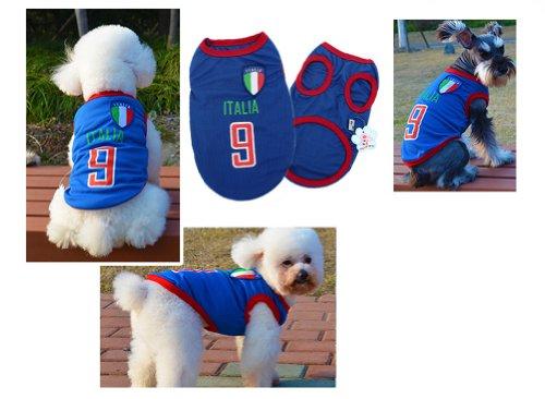 [Italia] Lovely Dog Apparel Pet Vêtements pour animal domestique de football Vêtements, taille XL