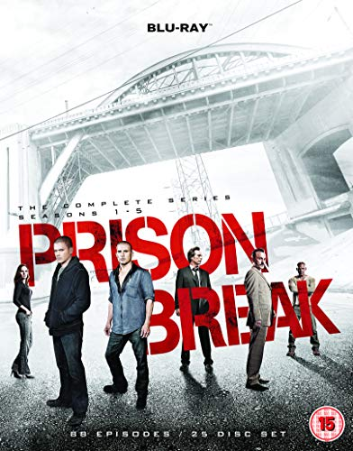 Prison Break: The Complete Series - Seasons 1-5 [Blu-ray] [Region Free]