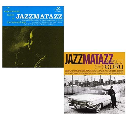 Jazzmatazz Vol.I - Jazzmatazz Vol.II - Guru 2 CD Album Bundling