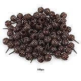 Jinxuny Caja de Fertilizante de Bonsai 100Pcs / Set Cesta de Cubierta de Fertilizante Portátil Reutilizable para Flor de Planta de Bonsai