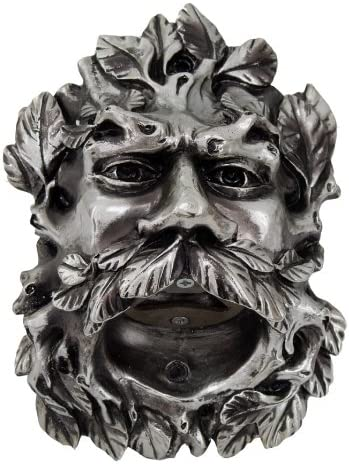 Pacific Giftware Cool Celtic Green Man Bottle Mounted Wall 2021 autumn and winter new 100% quality warranty Opene
