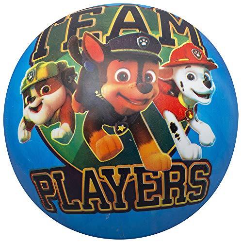 wuselwelt 2244 PVC Ball mit Hunde Motiven, bekannt aus dem TV, ca. 22 cm Wurfball, Spielball, Kinderball, Fußball, Strandball, Beachball