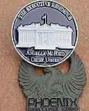 Phoenix Challenge Coins White House Chief Usher Angella Reid Custom Challenge Coin Featuring Armor
