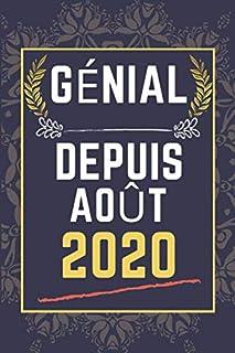 Génial Depuis août 2020: Idée de cadeau d'anniversaire    Cadeau..
