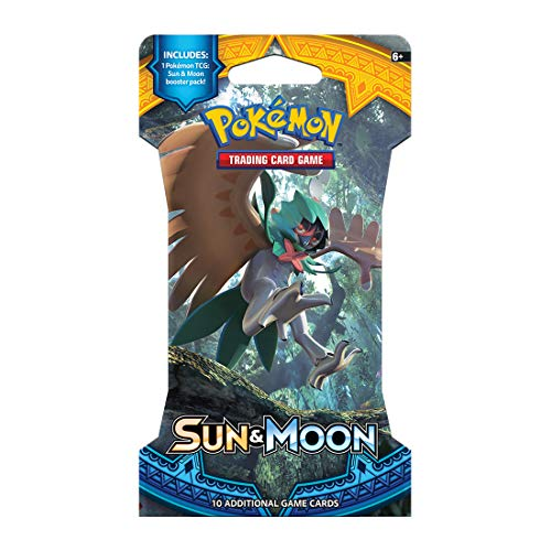 Pokemon TCG: Sun & Moon, Blistered Booster Pack Containing 10 Cards Per Pack With Over 140 New Cards To Collect