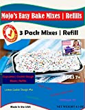 Mojo Stuff Galore Easy Bake Oven Mixes & Refill Cake | Cupcake | Cookies Refill 3 Pack...