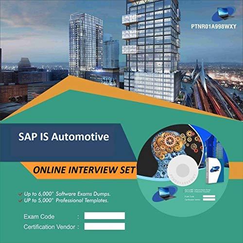 SAP IS Automotive Complete Unique Collection Interview Video Training Solution Set (DVD)